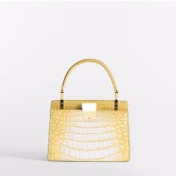 3.3 Handbag Mini in Nuanced Yellow Gold